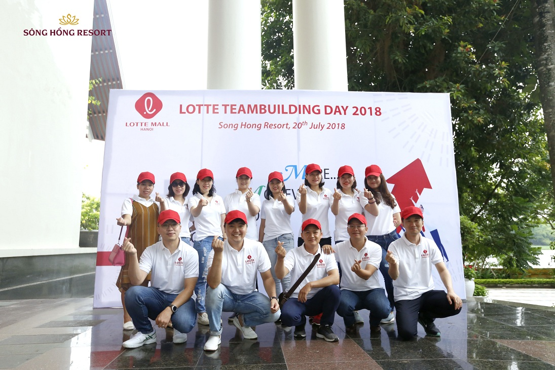 LOTTE MALL'S TEAM BUILDING