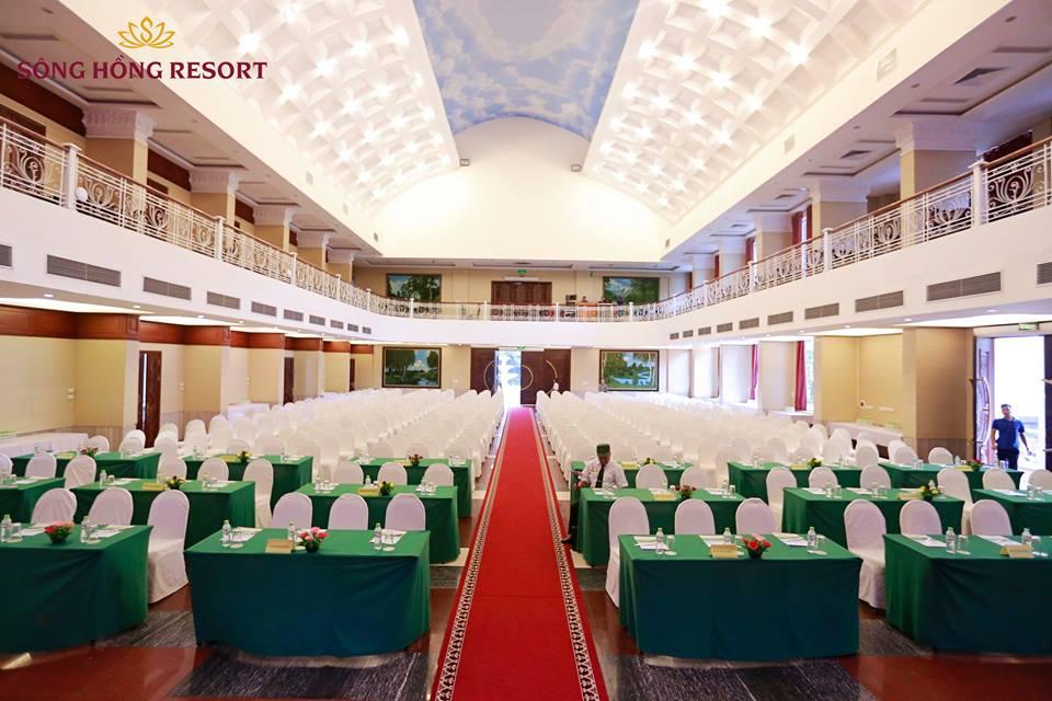 Sông Hồng resort - Sự lựa chọn hoàn hảo để tổ chức hội thảo, sự kiện